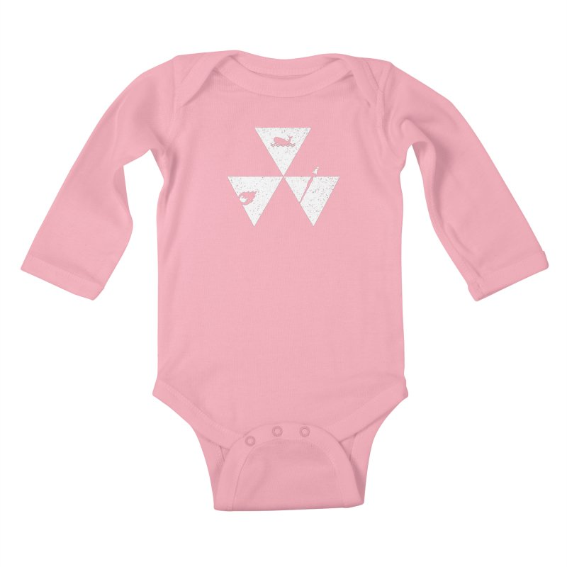 3 Elements Kids Baby Longsleeve Bodysuit by eikwox's Artist Shop