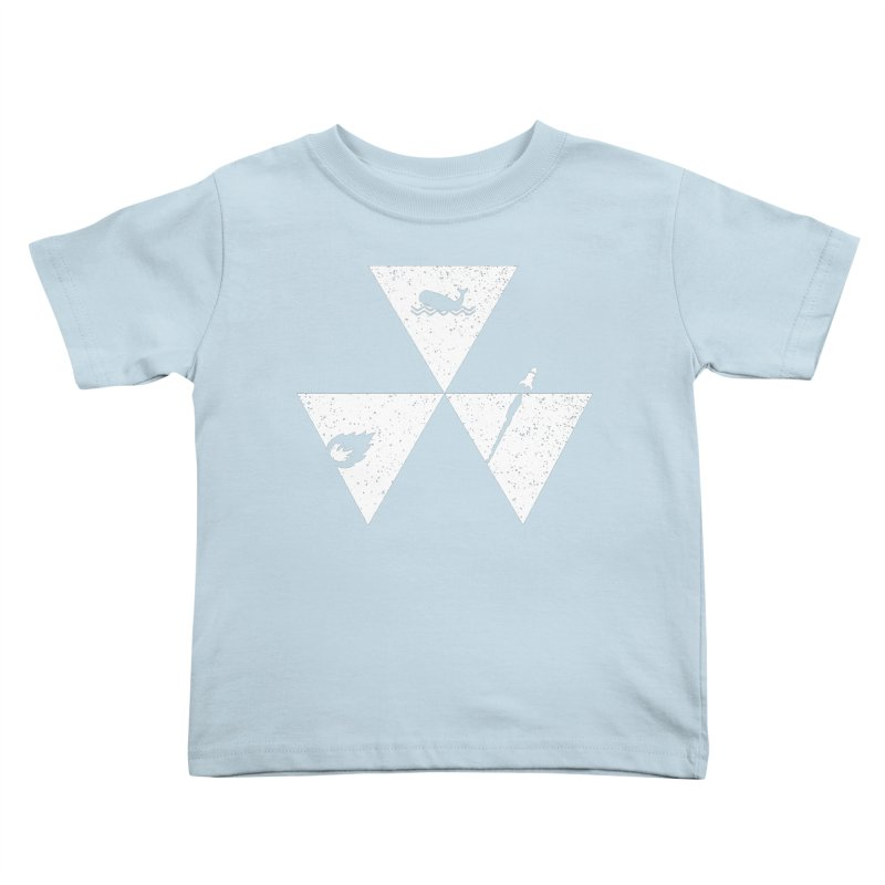 3 Elements Kids Toddler T-Shirt by eikwox's Artist Shop