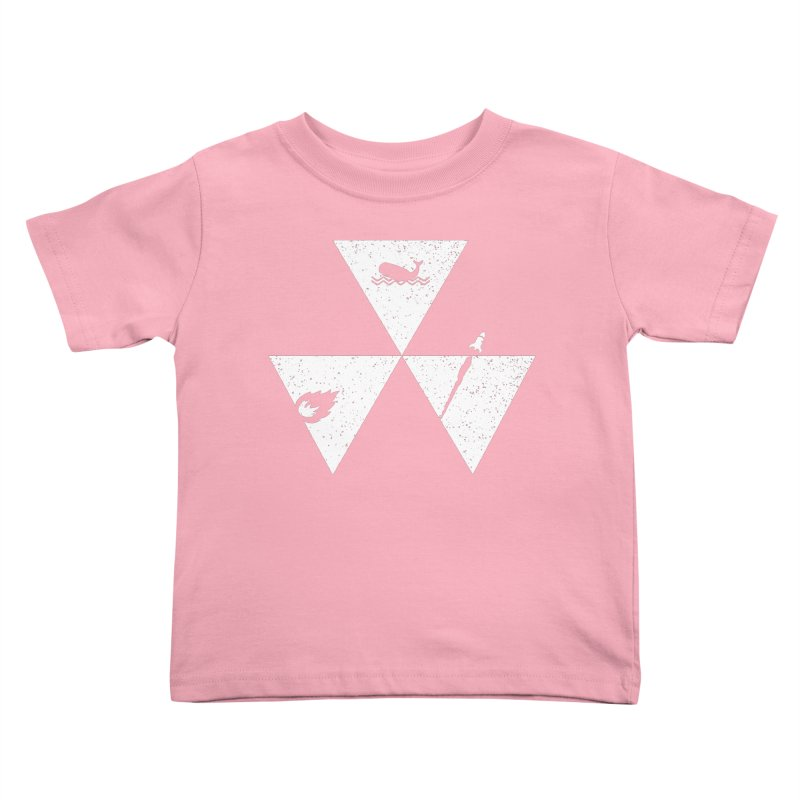 3 Elements Kids Toddler T-Shirt by eikwox's Artist Shop