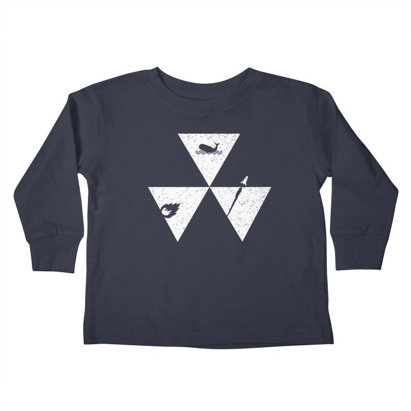 3 Elements Kids Toddler Longsleeve T-Shirt by eikwox's Artist Shop