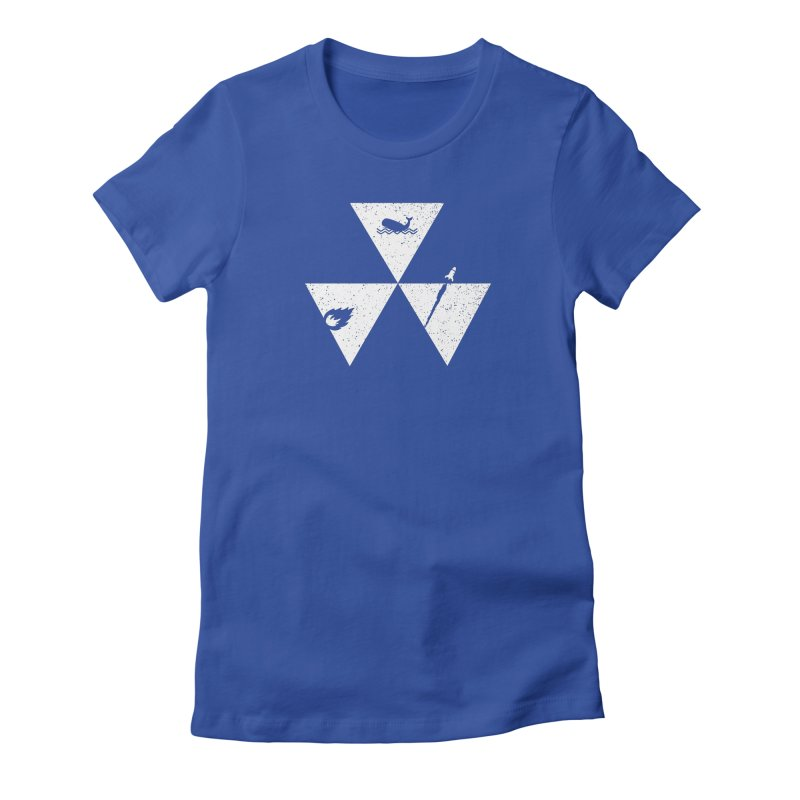 3 Elements Women's Fitted T-Shirt by eikwox's Artist Shop