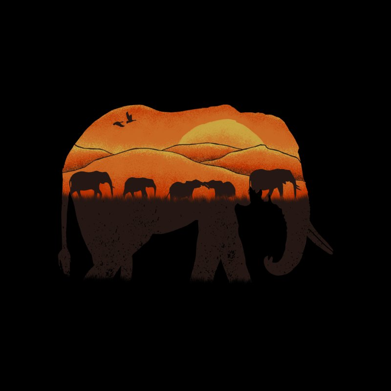African Elephant None  by eikwox's Artist Shop