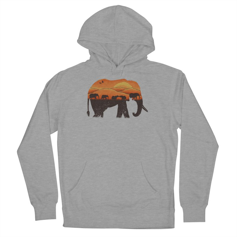 African Elephant Women's Pullover Hoody by eikwox's Artist Shop