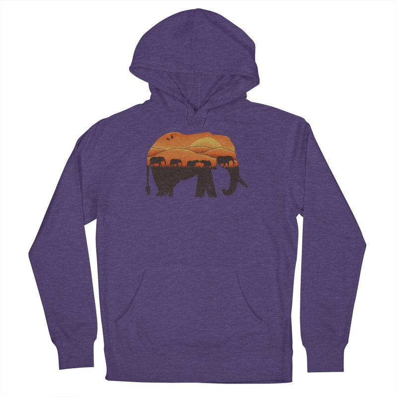 African Elephant Men's Pullover Hoody by eikwox's Artist Shop