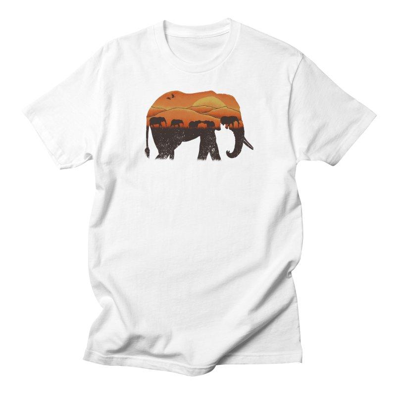 African Elephant Men's T-shirt by eikwox's Artist Shop
