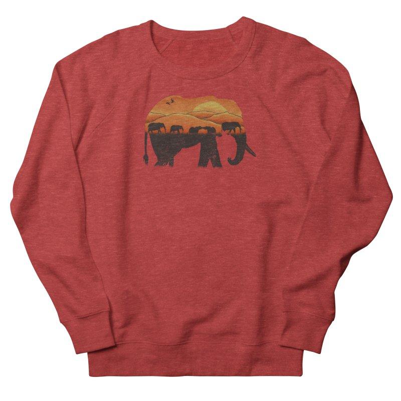 African Elephant Women's Sweatshirt by eikwox's Artist Shop