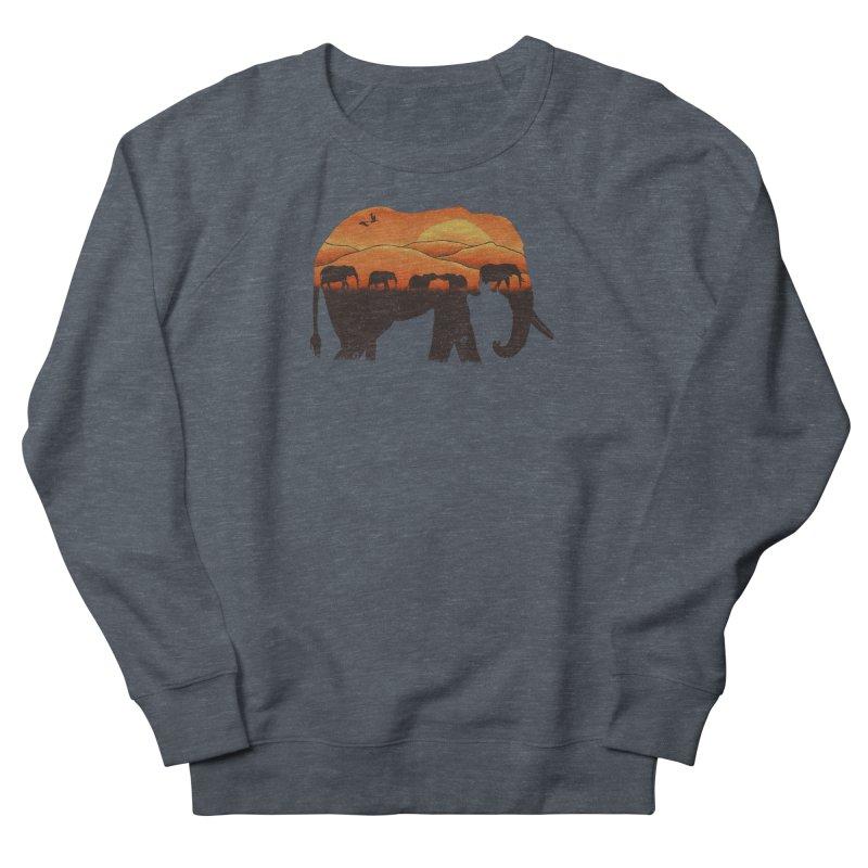 African Elephant Men's Sweatshirt by eikwox's Artist Shop