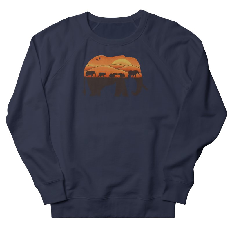 African Elephant Men's Sweatshirt by eikwox's Artist Shop
