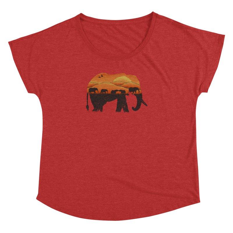African Elephant Women's Dolman by eikwox's Artist Shop
