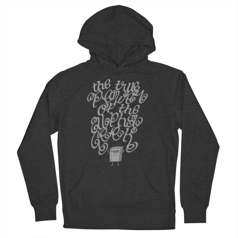 Alpha Geek Women's French Terry Pullover Hoody by eikwox's Artist Shop