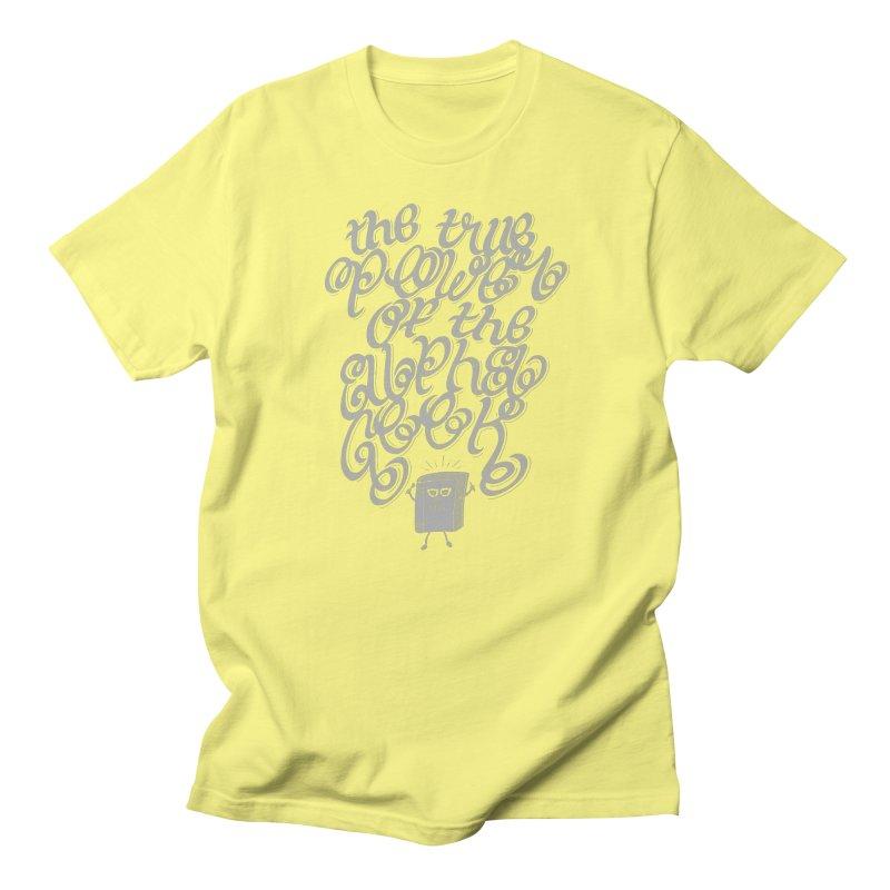 Alpha Geek Men's T-Shirt by eikwox's Artist Shop