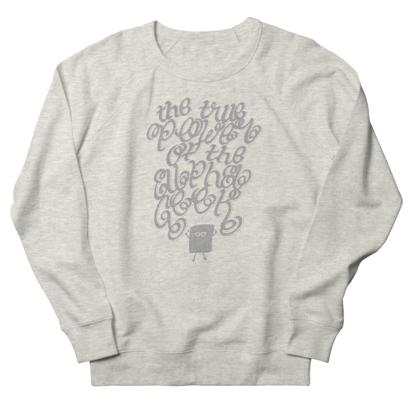 Alpha Geek Women's Sweatshirt by eikwox's Artist Shop