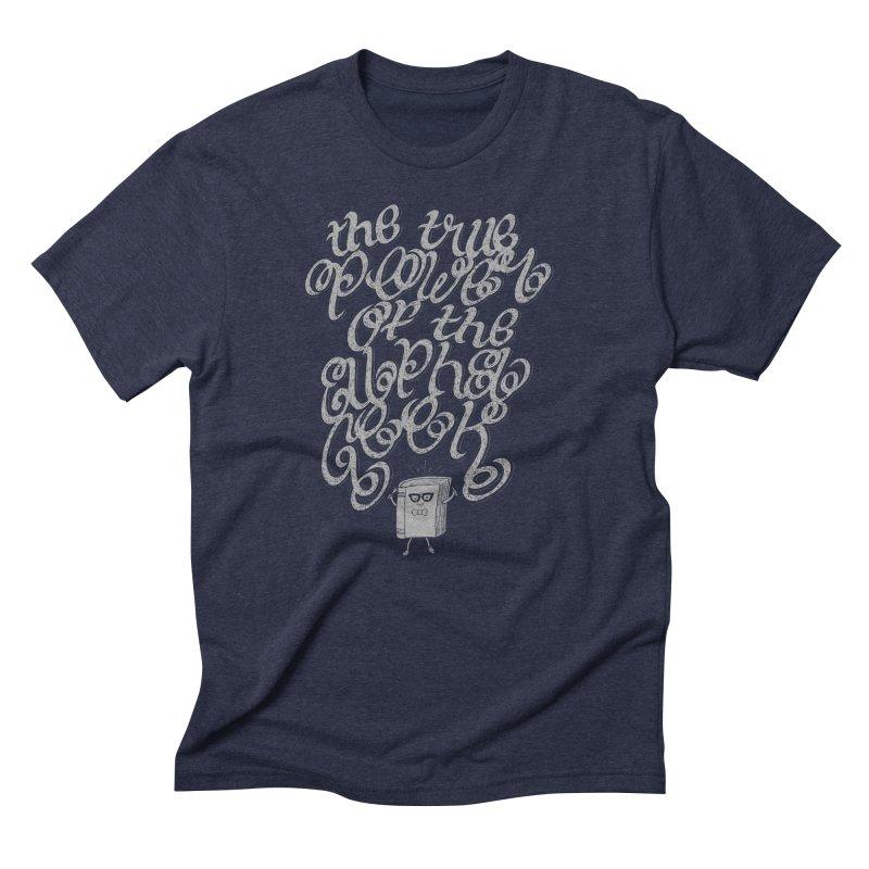 Alpha Geek Men's Triblend T-shirt by eikwox's Artist Shop