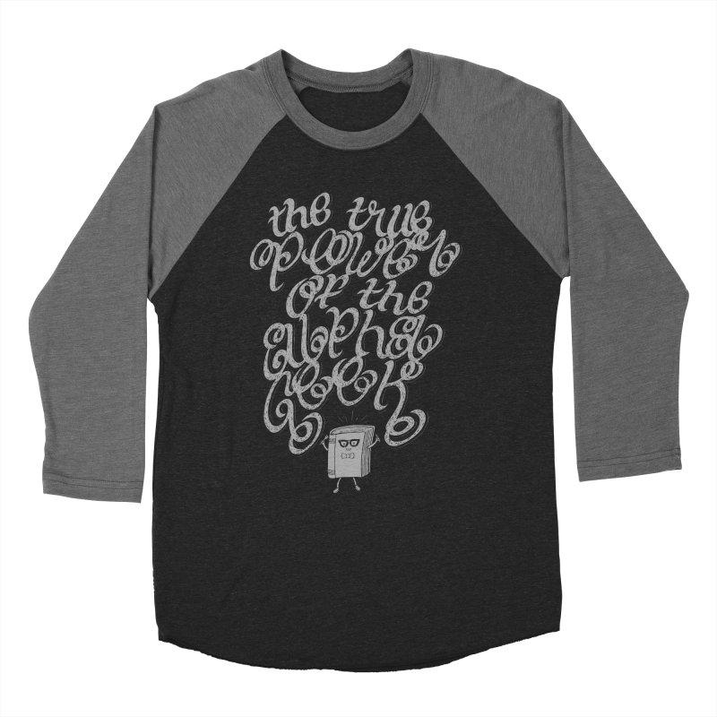 Alpha Geek Men's Baseball Triblend T-Shirt by eikwox's Artist Shop