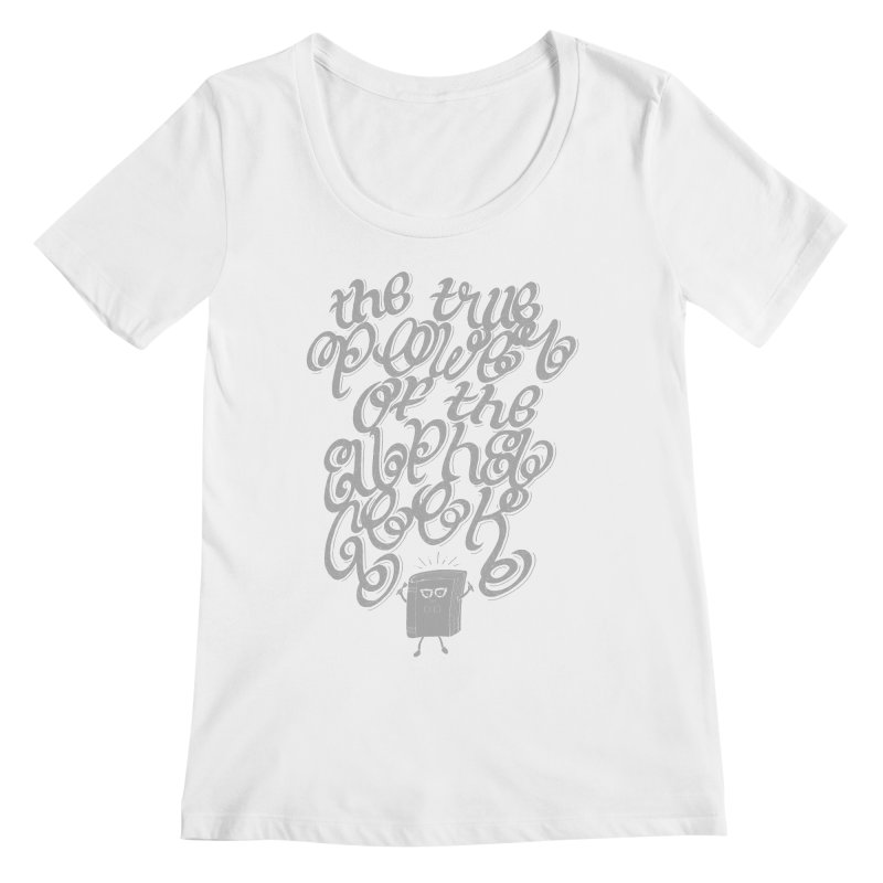 Alpha Geek Women's Scoopneck by eikwox's Artist Shop