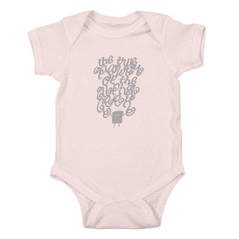Alpha Geek Kids Baby Bodysuit by eikwox's Artist Shop