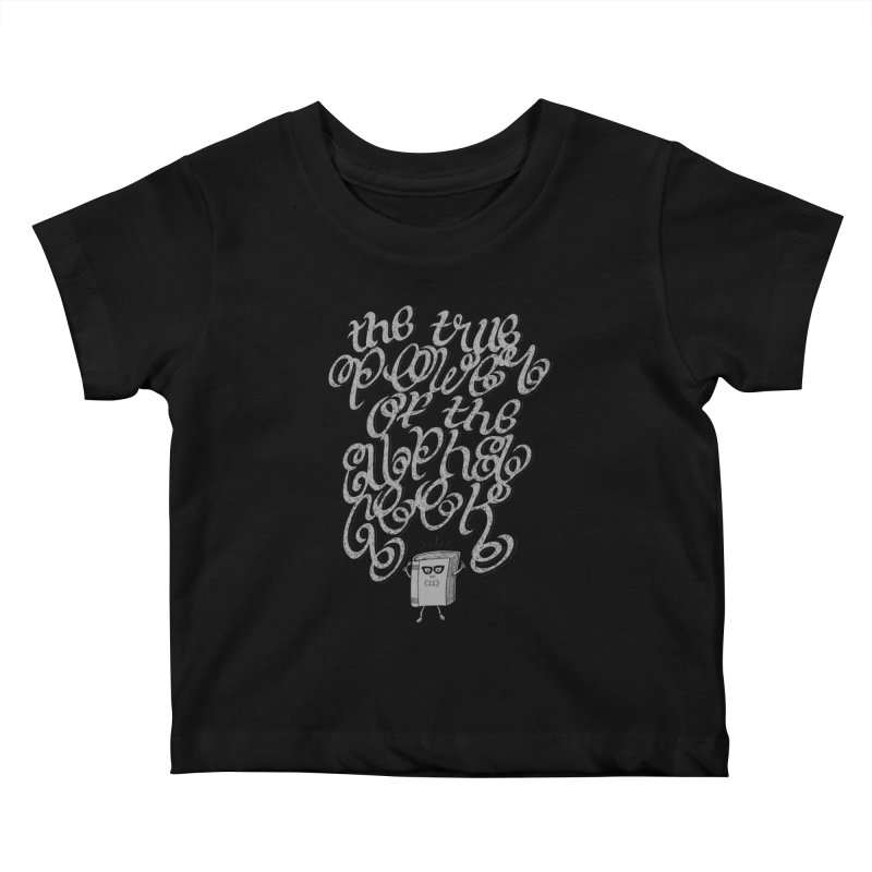Alpha Geek Kids Baby T-Shirt by eikwox's Artist Shop