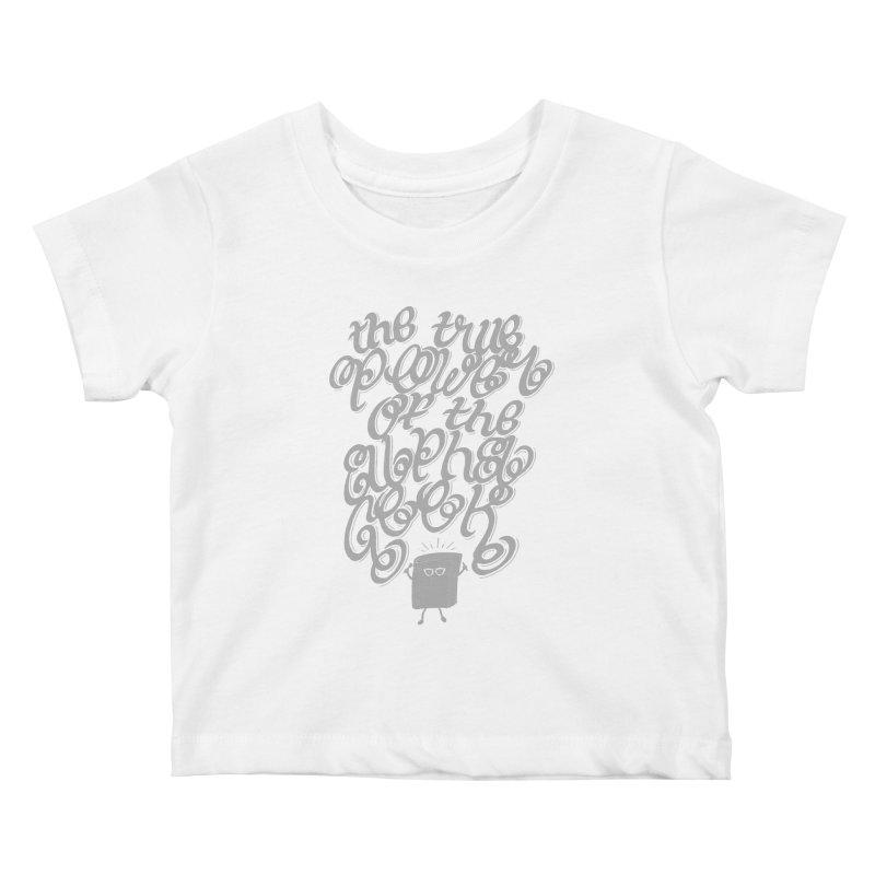 Alpha Geek Kids Baby T-Shirt by eikwox's Artist Shop