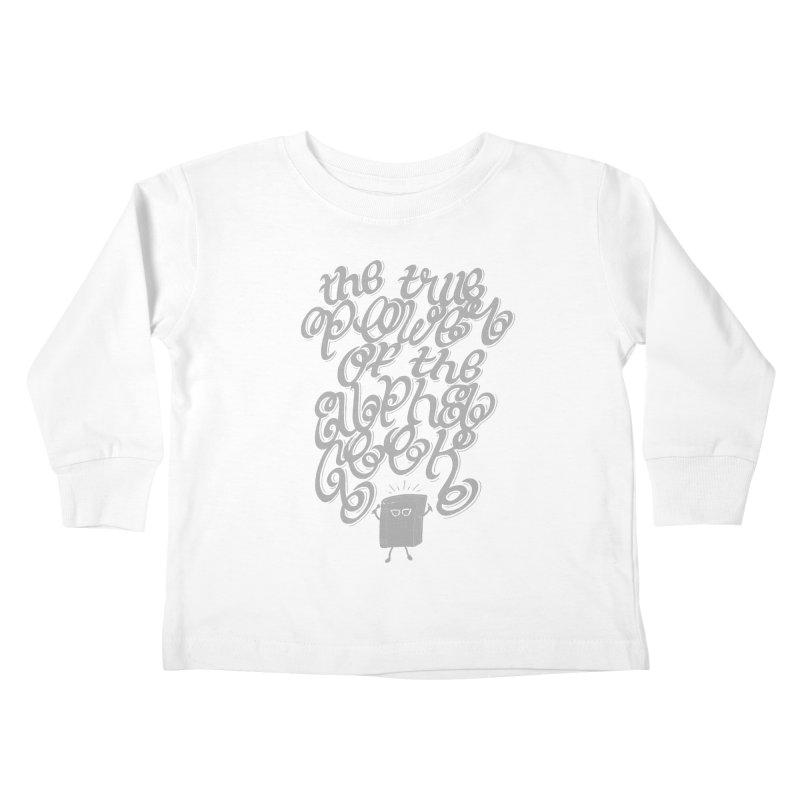 Alpha Geek Kids Toddler Longsleeve T-Shirt by eikwox's Artist Shop