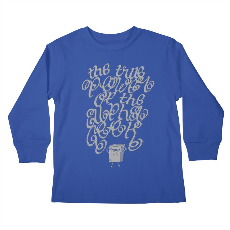 Alpha Geek Kids Longsleeve T-Shirt by eikwox's Artist Shop