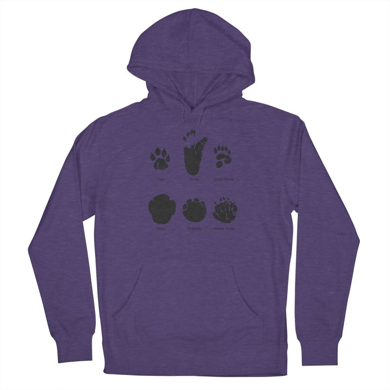 Animal Tracks Men's Pullover Hoody by eikwox's Artist Shop