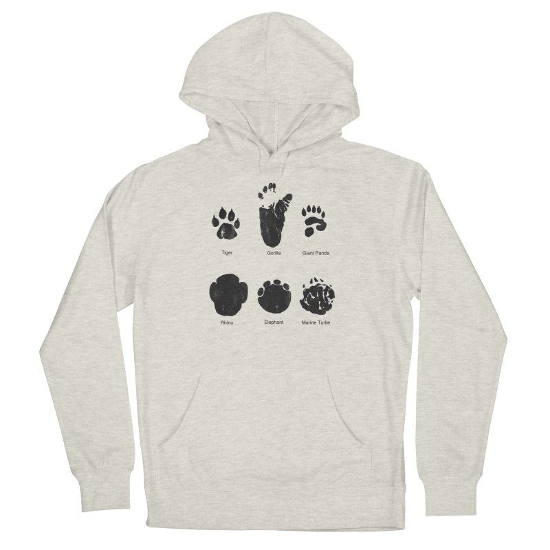 Animal Tracks Men's Pullover Hoody by eikwox's Artist Shop