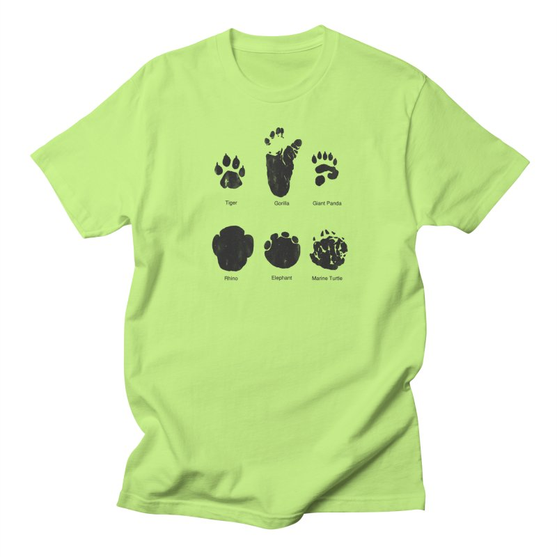 Animal Tracks Men's Regular T-Shirt by eikwox's Artist Shop