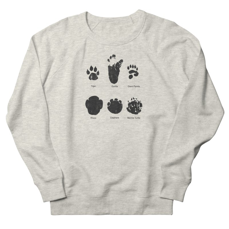 Animal Tracks Women's Sweatshirt by eikwox's Artist Shop