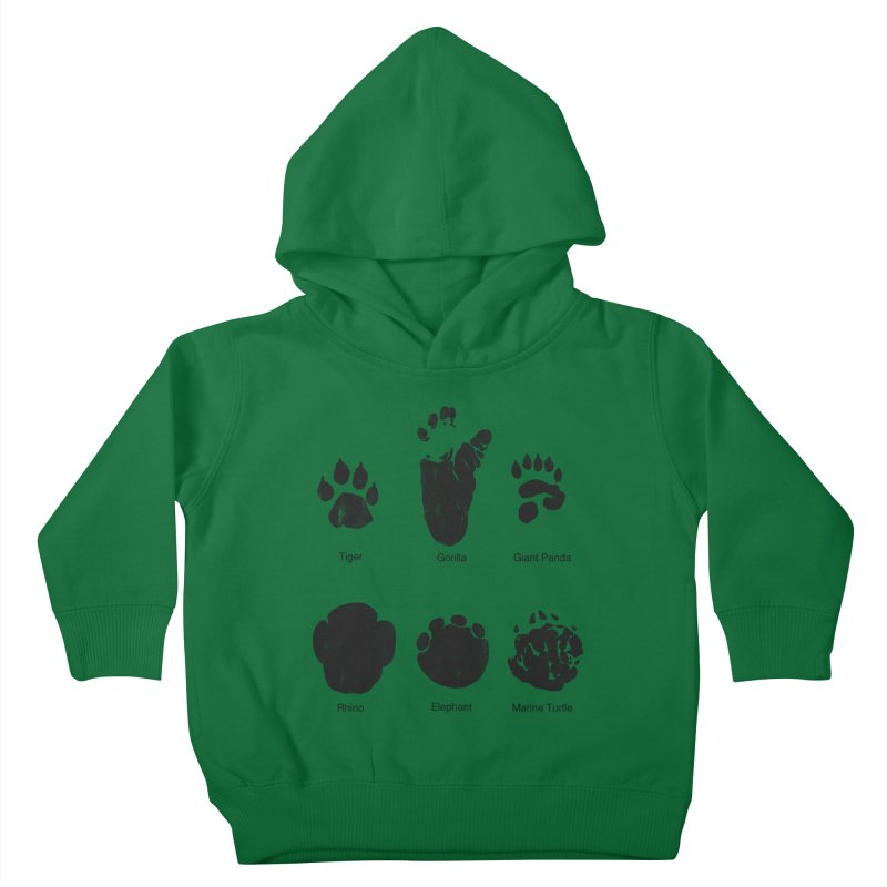 Animal Tracks Kids Toddler Pullover Hoody by eikwox's Artist Shop