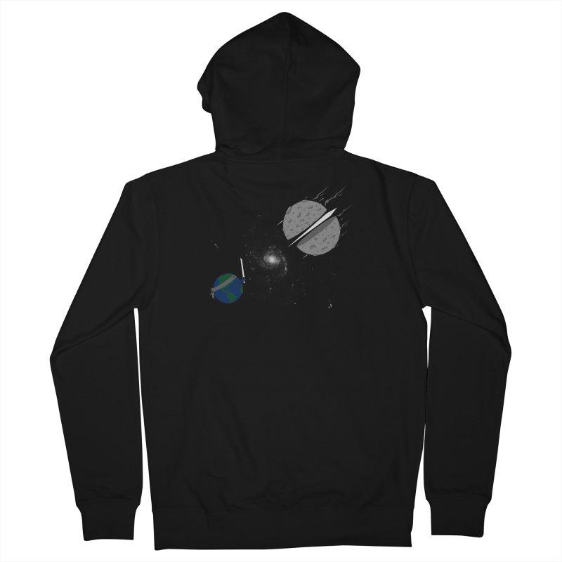 Asteroid Ninja Women's Zip-Up Hoody by eikwox's Artist Shop