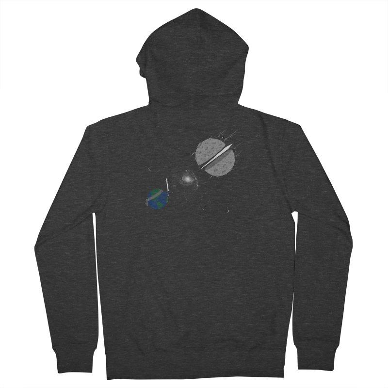 Asteroid Ninja Men's Zip-Up Hoody by eikwox's Artist Shop