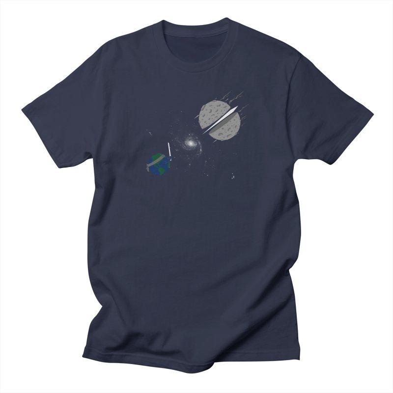 Asteroid Ninja Men's T-Shirt by eikwox's Artist Shop
