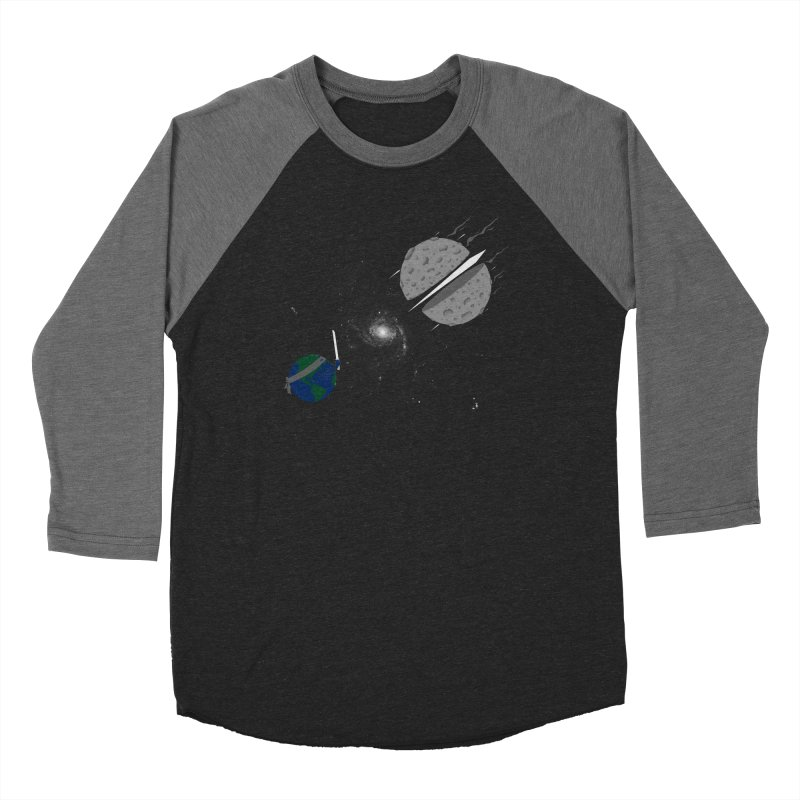 Asteroid Ninja Men's Baseball Triblend T-Shirt by eikwox's Artist Shop