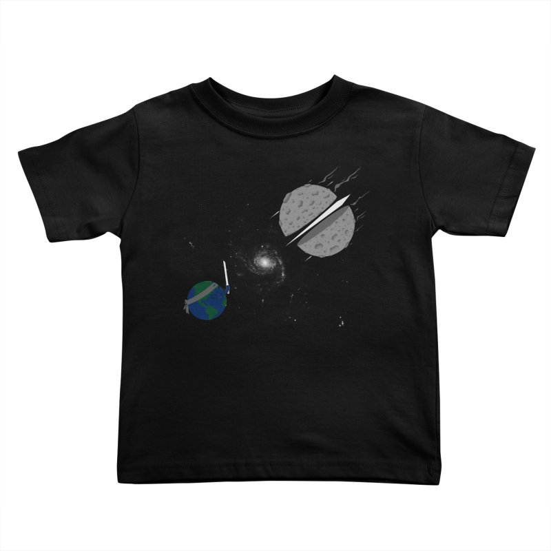 Asteroid Ninja Kids Toddler T-Shirt by eikwox's Artist Shop