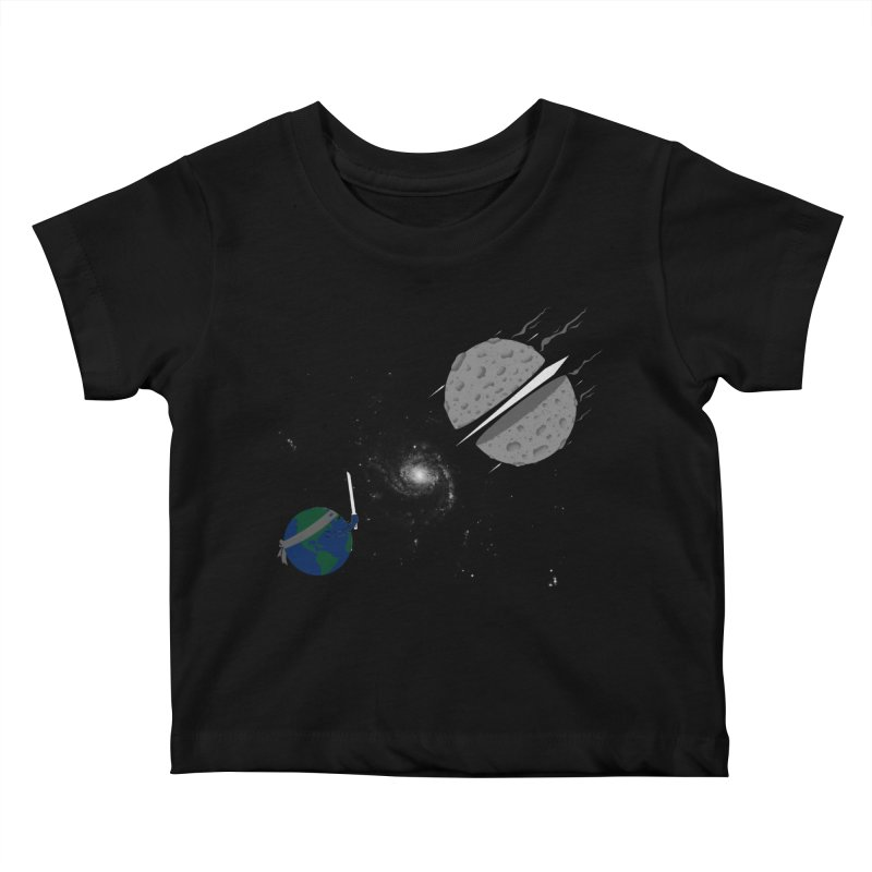 Asteroid Ninja Kids Baby T-Shirt by eikwox's Artist Shop