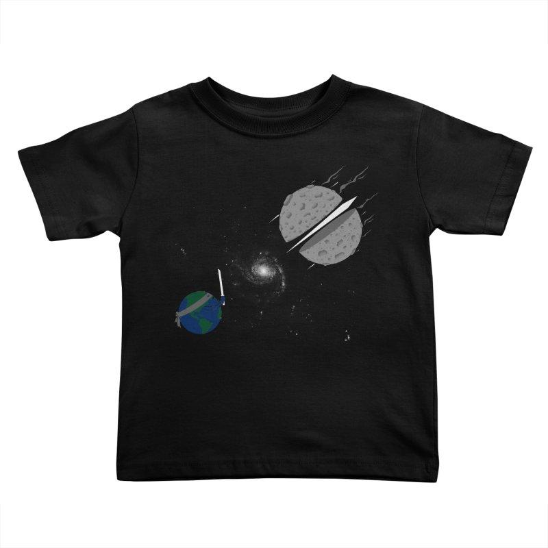 Asteroid Ninja Kids Toddler T-Shirt by eikwox's Artist Shop
