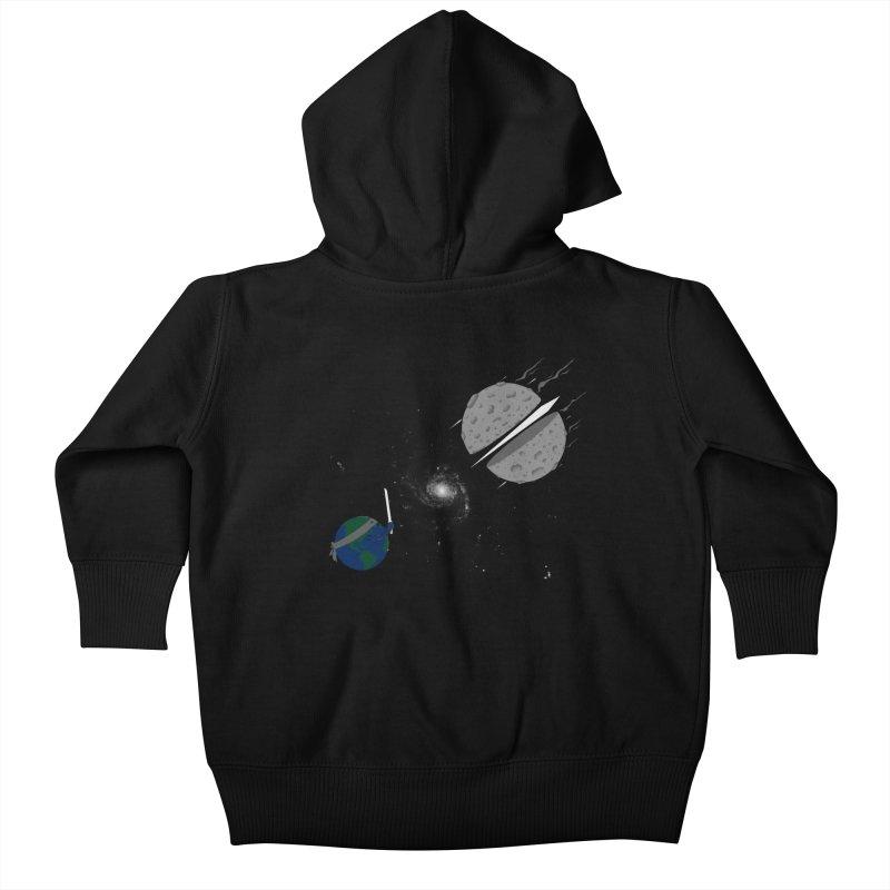 Asteroid Ninja Kids Baby Zip-Up Hoody by eikwox's Artist Shop