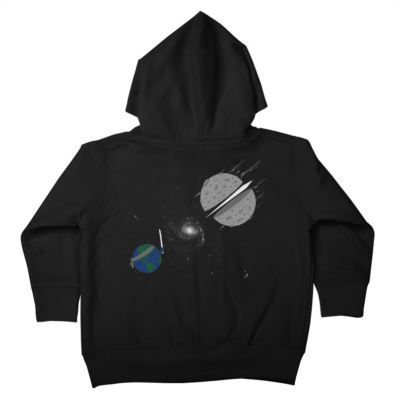 Asteroid Ninja Kids Toddler Zip-Up Hoody by eikwox's Artist Shop