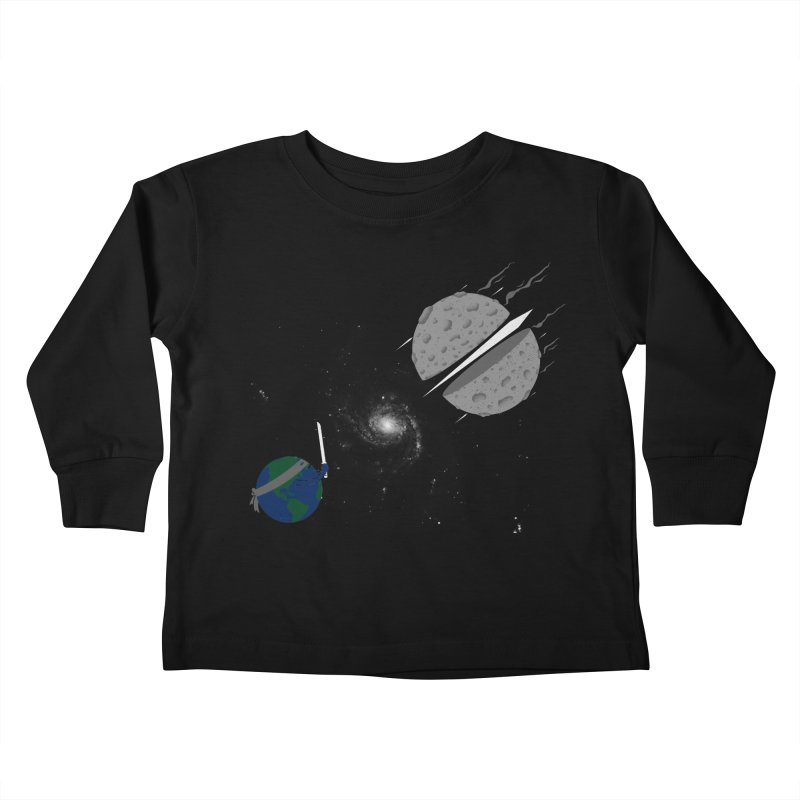 Asteroid Ninja Kids Toddler Longsleeve T-Shirt by eikwox's Artist Shop