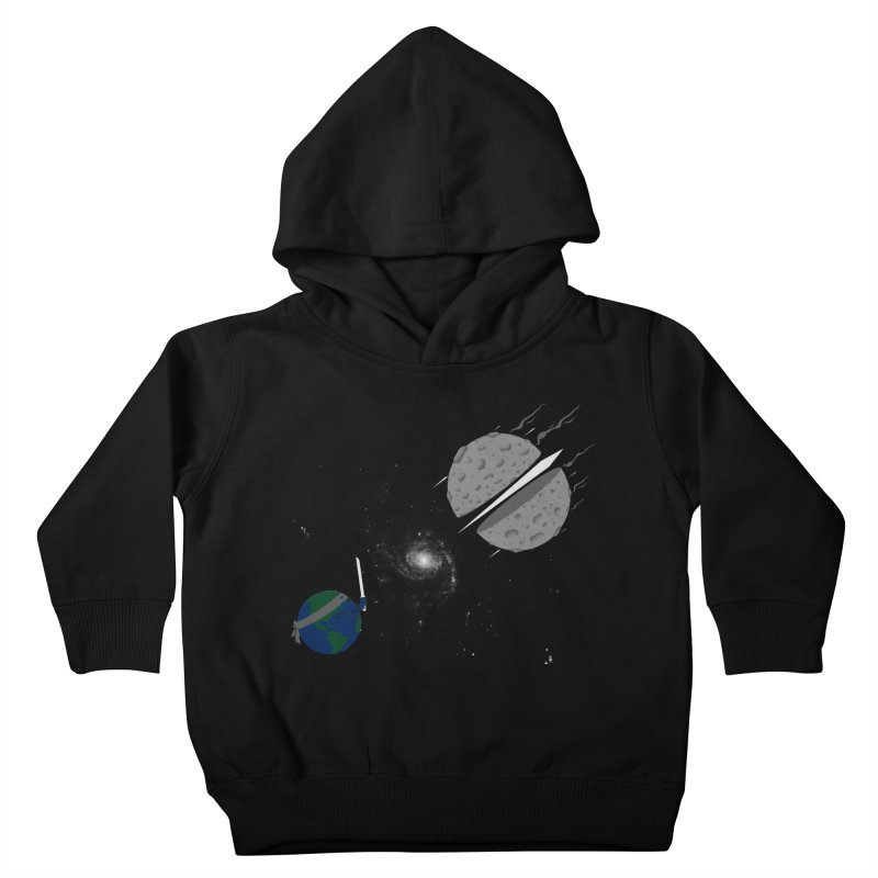 Asteroid Ninja Kids Toddler Pullover Hoody by eikwox's Artist Shop