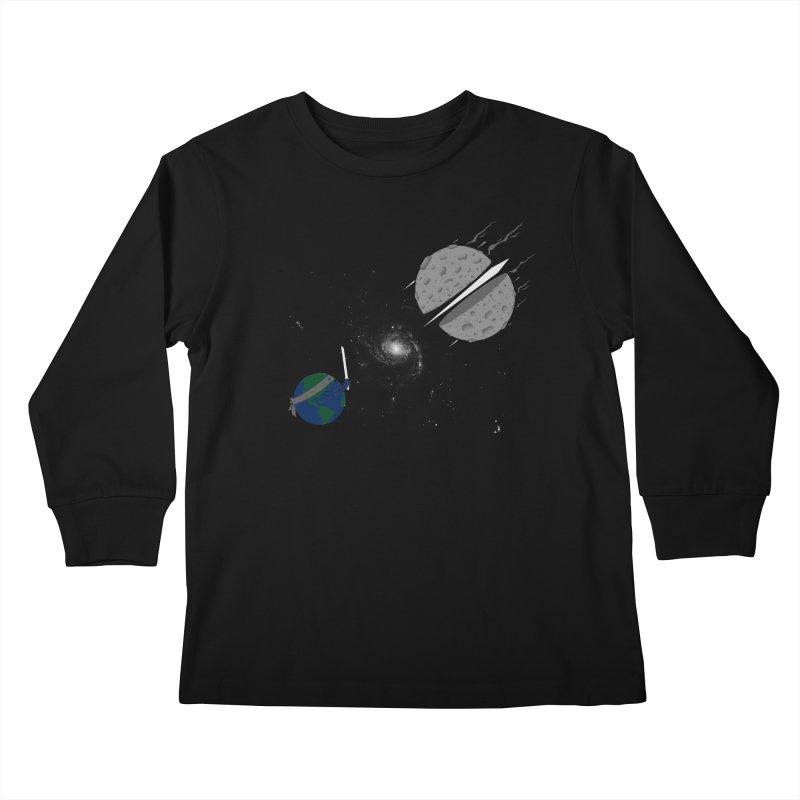 Asteroid Ninja Kids Longsleeve T-Shirt by eikwox's Artist Shop