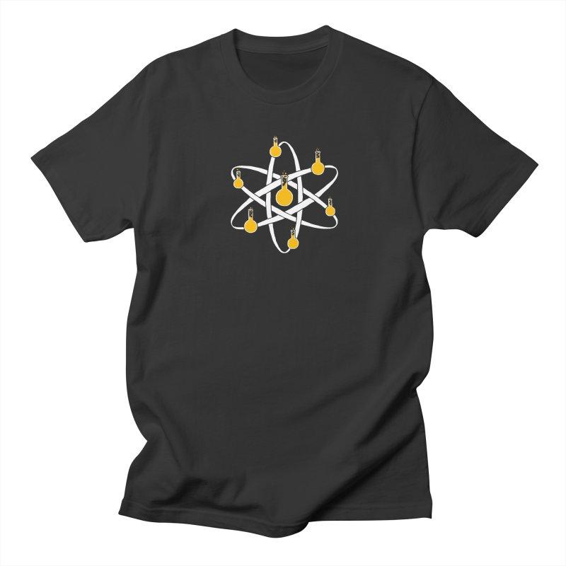Atomic Tube Men's Regular T-Shirt by eikwox's Artist Shop