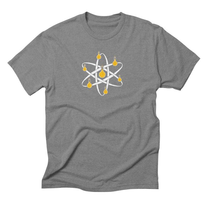 Atomic Tube Men's Triblend T-shirt by eikwox's Artist Shop