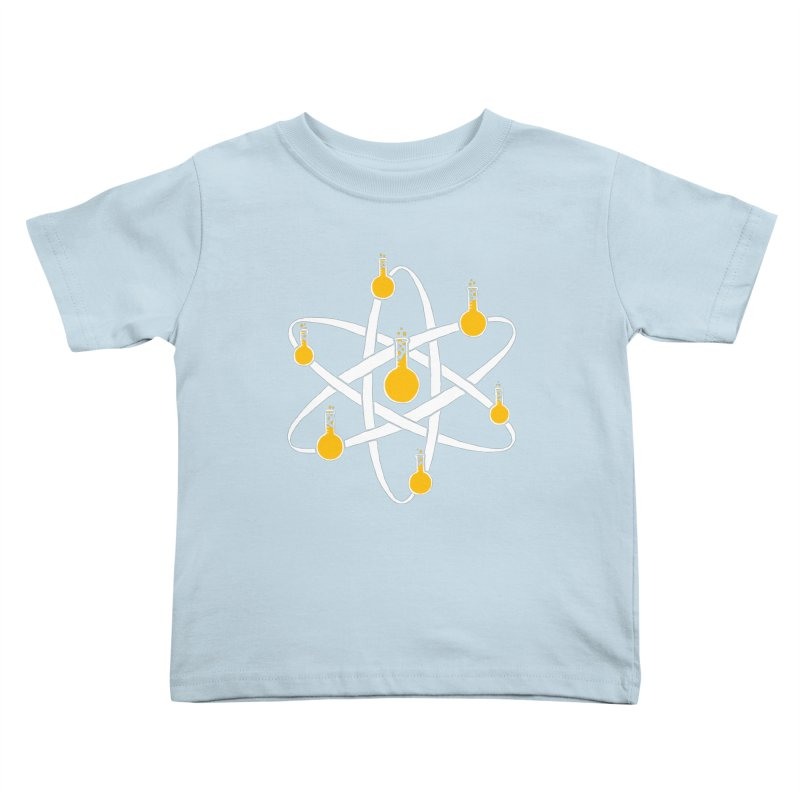 Atomic Tube Kids Toddler T-Shirt by eikwox's Artist Shop