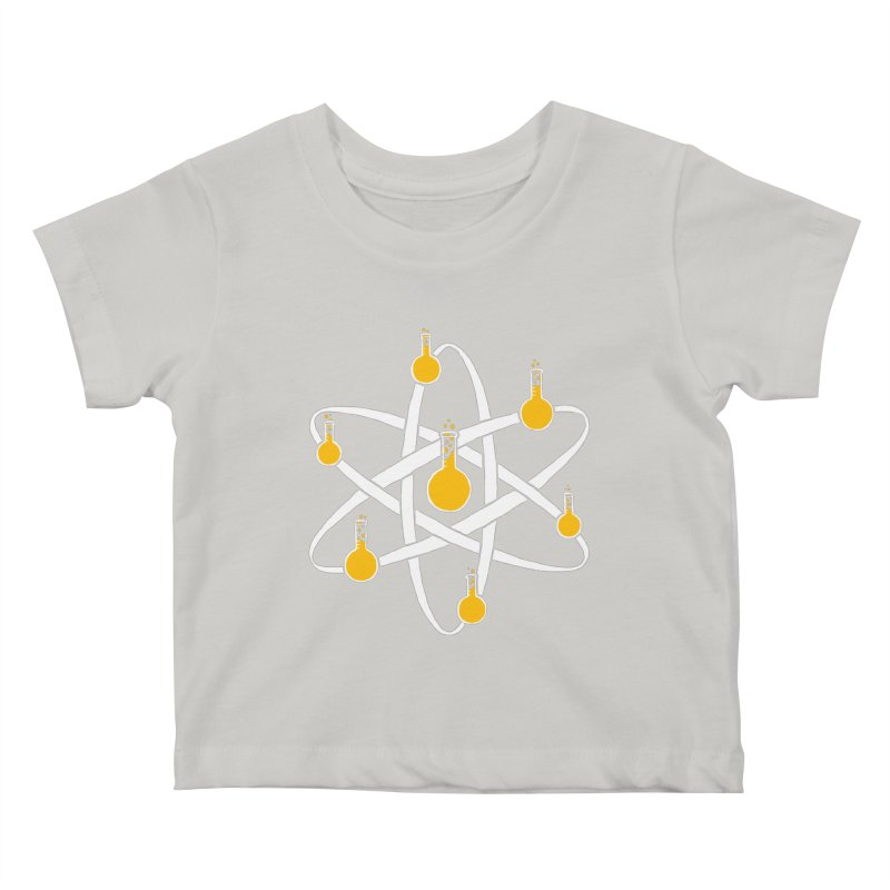 Atomic Tube Kids Baby T-Shirt by eikwox's Artist Shop