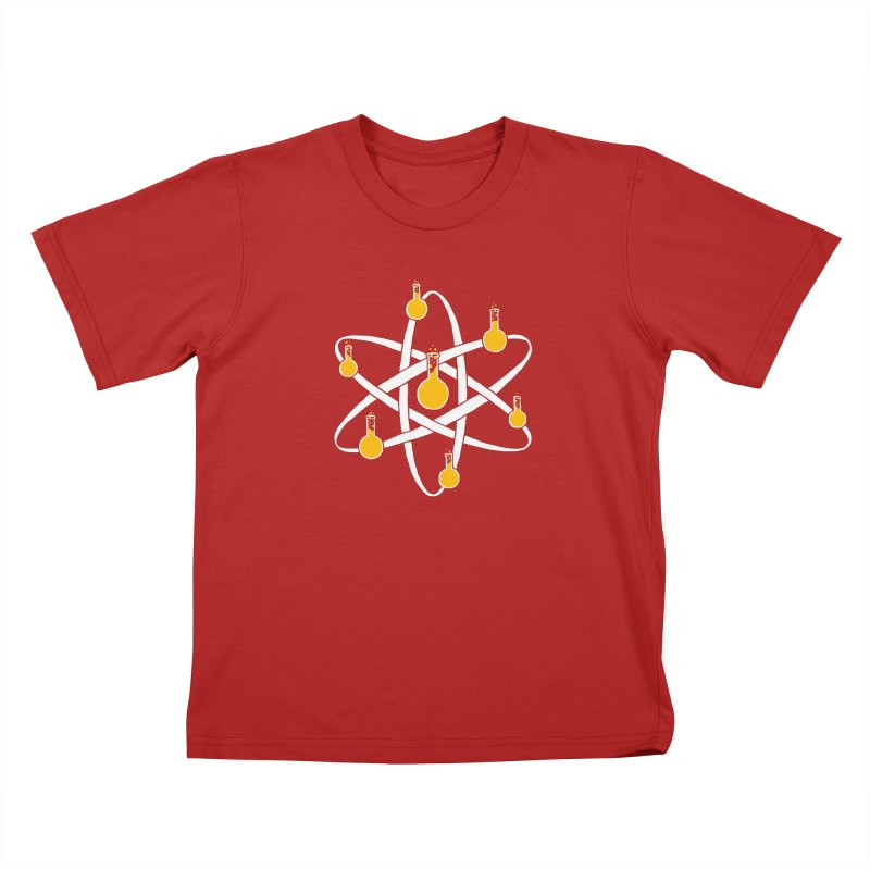 Atomic Tube Kids T-shirt by eikwox's Artist Shop