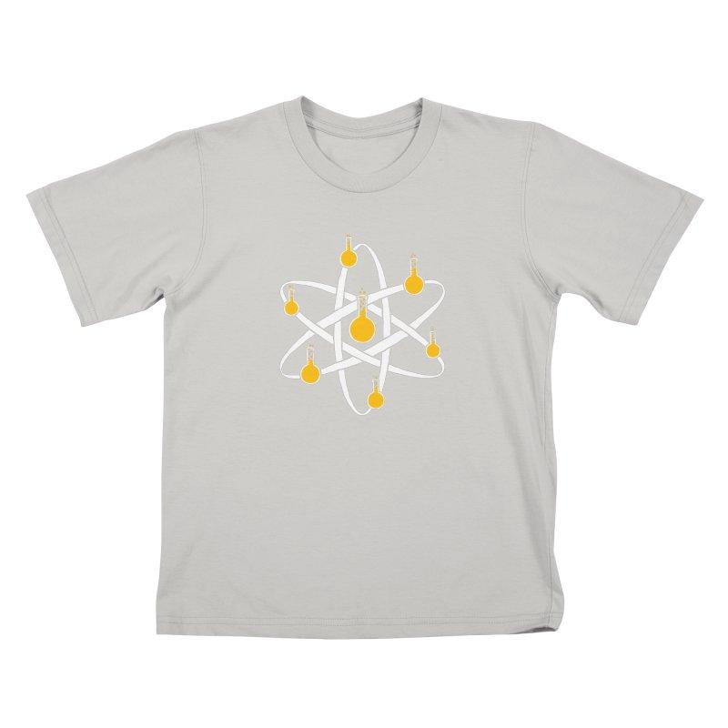 Atomic Tube Kids T-Shirt by eikwox's Artist Shop