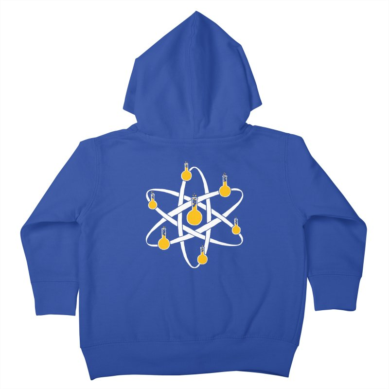 Atomic Tube Kids Toddler Zip-Up Hoody by eikwox's Artist Shop