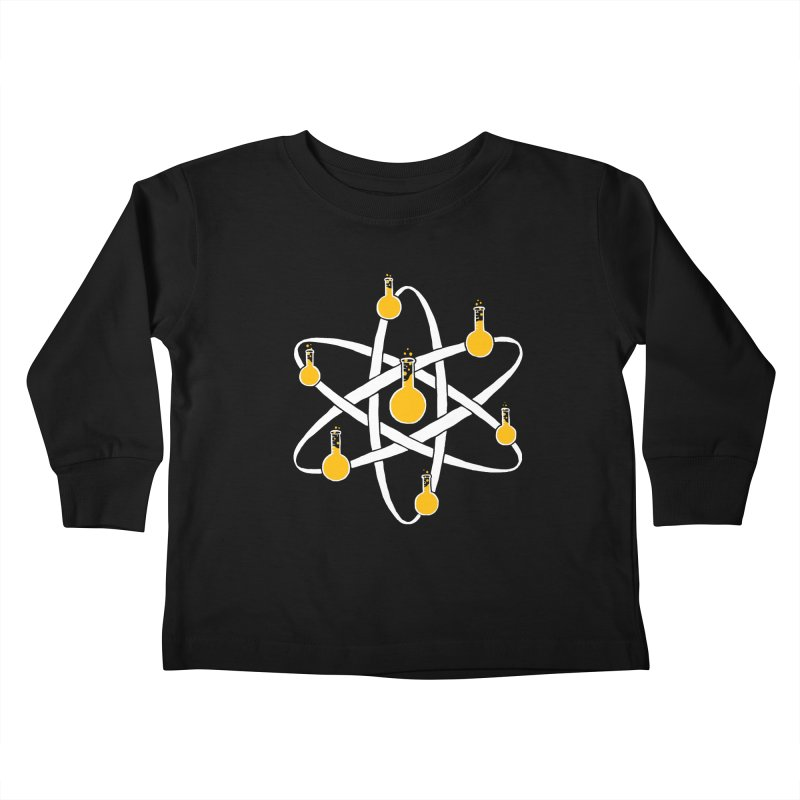 Atomic Tube Kids Toddler Longsleeve T-Shirt by eikwox's Artist Shop