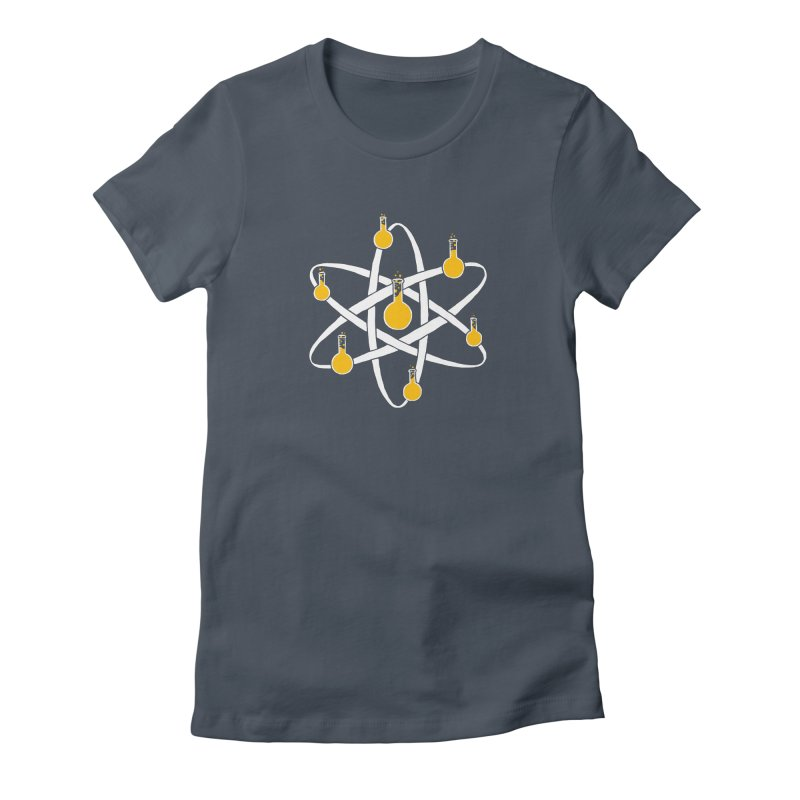 Atomic Tube Women's T-Shirt by eikwox's Artist Shop